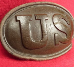 "US Belt Plate - Marked ""E. GAYLORD"""