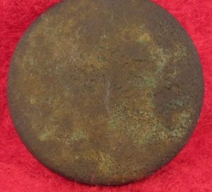 Pre-Civil War Flat Button - Cedar Creek