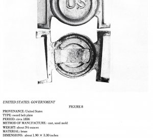 Plates and Buckles of the American Military 1795 -1874