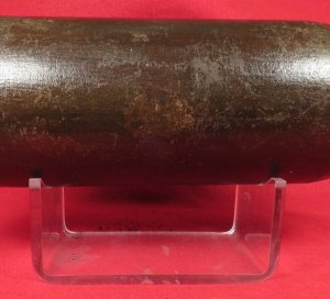 US 3.67 Inch 20 Pounder Parrott Shell with Display Stand