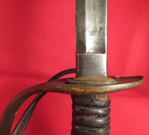 Mansfield & Lamb Light Cavalry Saber & Scabbard Dated 1864