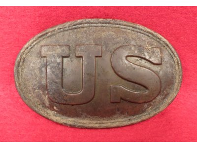 US Belt Buckle Marked Boyd & Sons / Boston & T. J. Shepard