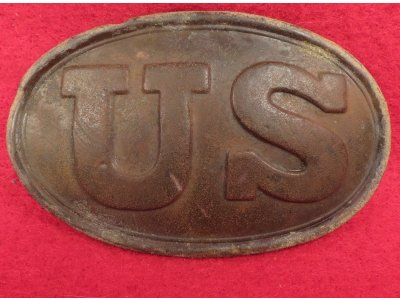 "US Belt Buckle - Marked ""W. H. SMITH BROOKLYN"""