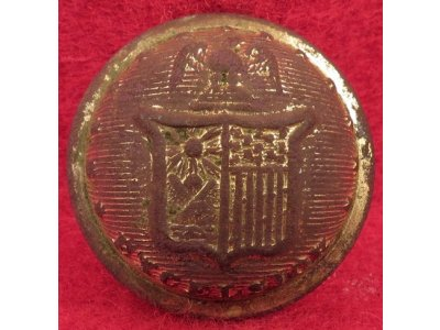 New York State Seal Coat Button