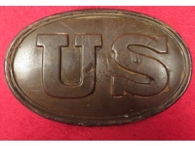 US Cartridge Box Plate - Marked W. H. Wilkinson & T. J. Shepard