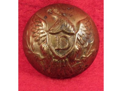 US Dragoon Coat Button