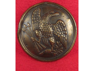 "Eagle Plate Marked ""W. H. SMITH / BROOKLYN"""