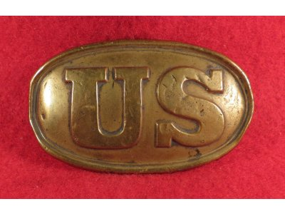 "US Belt Buckle - Small ""Baby"" Size"