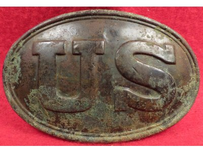 "US Belt Buckle Marked ""BOYD & SONS BOSTON"""