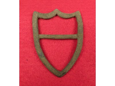 Brass Saddle Shield