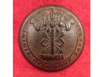 South Carolina State Seal Coat Button