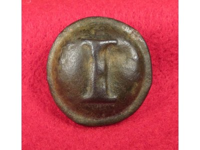 "Confederate Infantry Button with ""Stars"""