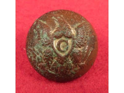 Federal Cavalry Coat Button