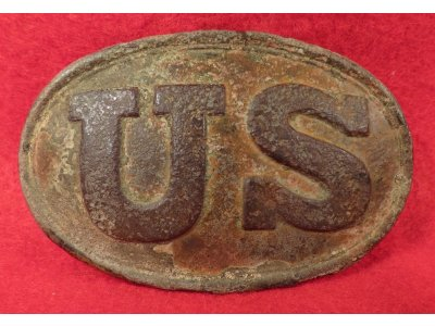 US Belt Buckle - Marked W. H. SMITH BROOKLYN