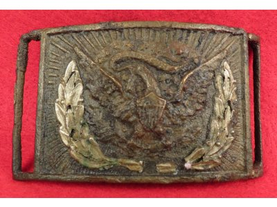 Federal Sword Belt Buckle With Keeper - Water Find