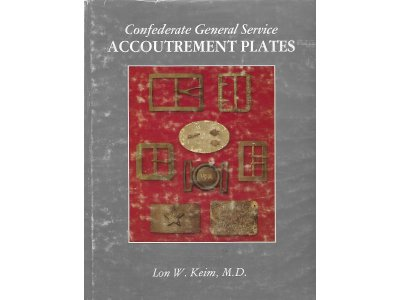 Confederate General Service Accoutrement Plates - Signed By Author