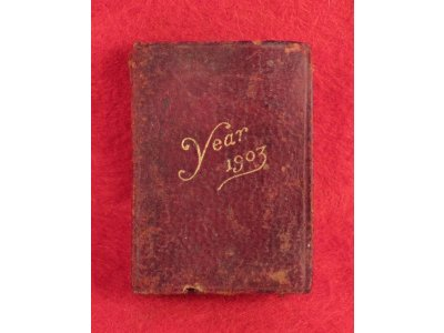 1903 Petite Calendar and Stamp Case