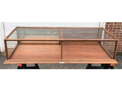 Antique Counter-Top Wood Display Case - Francis X. Ganter - Manufacturer