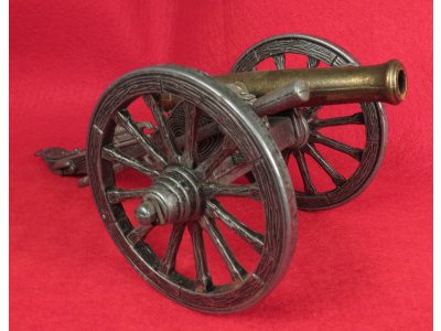 A Miniature Toy Cannon