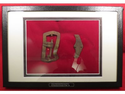 Federal Carbine Sling Buckle Display - Dinwiddie County, VA Area Recovery