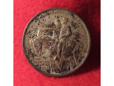 1925 Stone Mountain Memorial Half Dollar Silver Coin