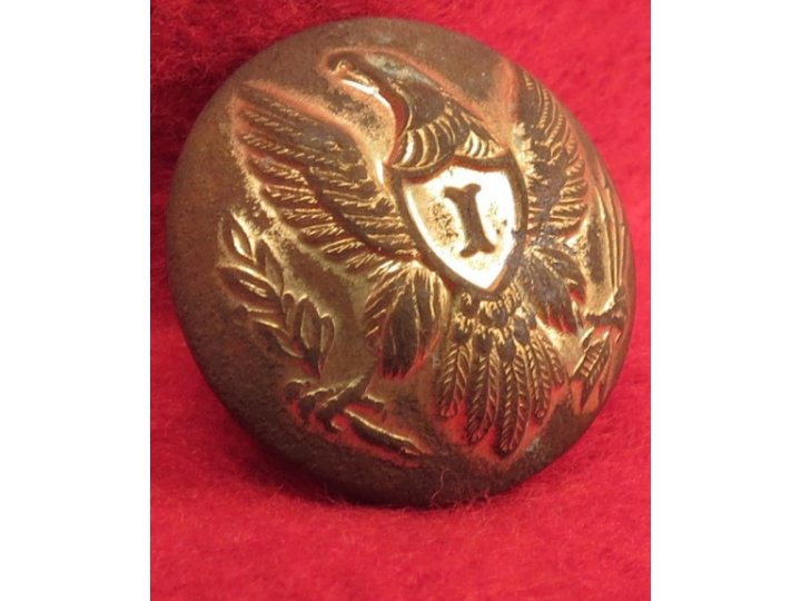 Federal Infantry Overcoat Button