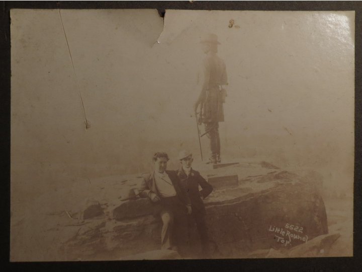 Little Round Top Photograph - September 17, 1899