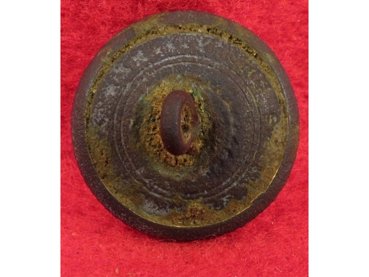 Federal Navy Coat Button
