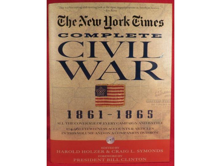 """The New York Times Complete Civil War 1861-1865"" with DVD"