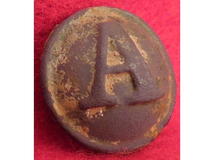 Confederate Artillery Coat Button