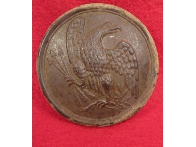 Eagle Plate - Gnawed or Carved?