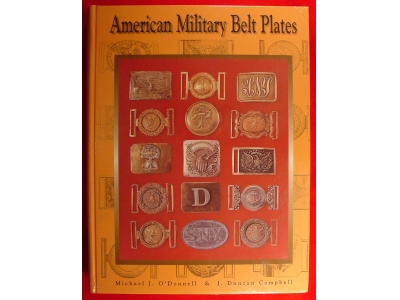 American Military Belt Plates - New 3rd Edition Now Available