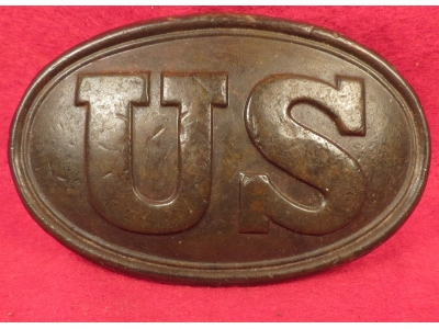 US Belt Buckle - Mac Mason Lettering