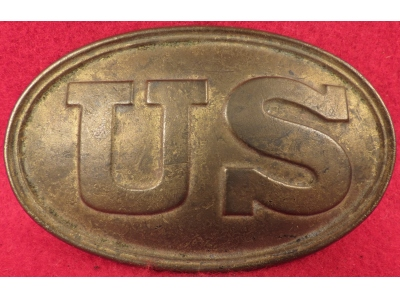 "US Waist Belt Plate Marked ""BOYD & SONS / BOSTON"""