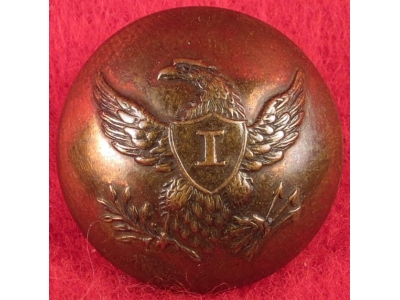 Federal Infantry Button