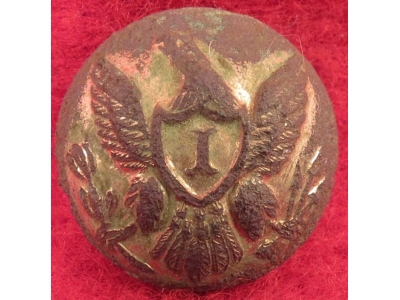 Federal Infantry Cuff Button