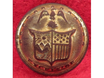 New York State Seal Button