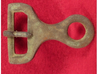 Confederate Isaacs & Campbell Knapsack Buckle Portion