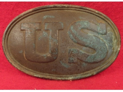 "US Cartridge Box Plate Maker Marked ""BOYD & SONS BOSTON"""