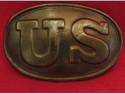 "US Belt Buckle Marked ""W. H. SMITH BROOKLYN"""