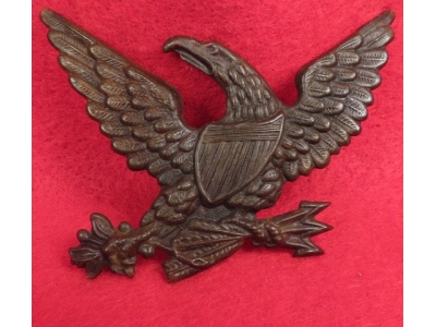 Light Artillery Hat Emblem