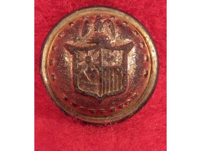 New York State Seal Cuff Button