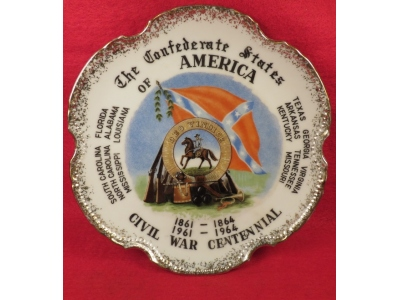 Civil War Centennial Plate