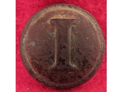 Confederate Infantry Button