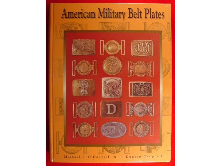American Military Belt Plates - Brand New Signed Copy