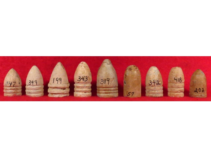 Nine High Quality Mixed Bullets