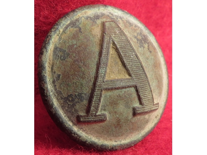 "Confederate ""Lined"" Artillery Button"