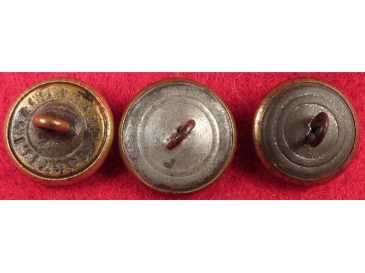 Three US Eagle Cuff Buttons