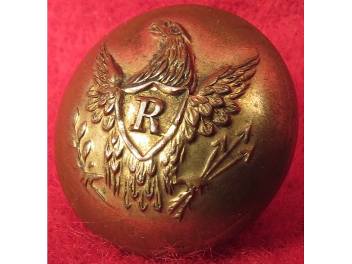 Pre-Civil War Rifleman Button