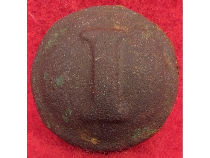 Confederate Infantry Coat Button